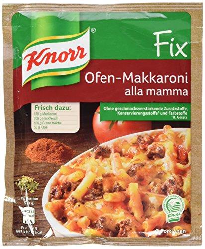 Knorr Fix Ofen-Makkaroni alla mamma 3 Portionen (1 x 52 g)