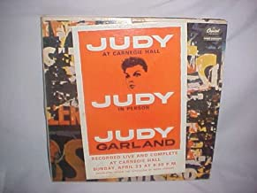1961 Judy Garland Carnegie Hall Double LP Vinyl Record
