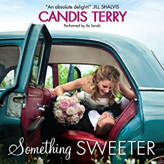 Something Sweeter audiobook cover art