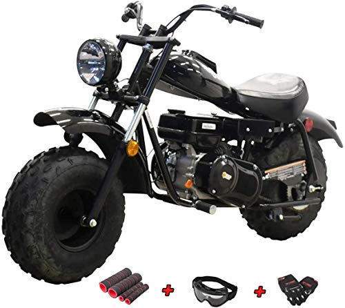 X-PRO Supersized 196CC Youth Mini bike Gas Powered Mini Trail Bike Scooter Carb approved mini motorcyle,19