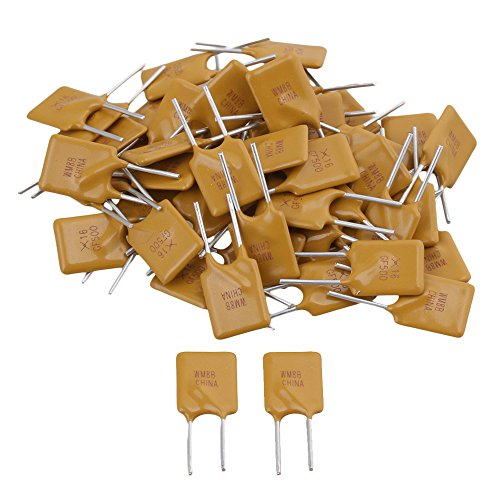 50pcs 5A 16V RGEF500 PolySwitch Resettable Fuse Switch Fuses Polyfuse