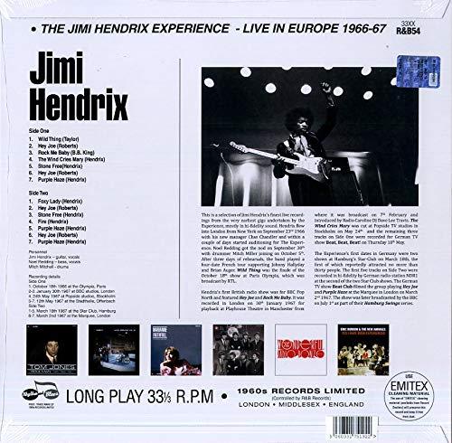 Live in Europe 1966-1967 [VINYL]