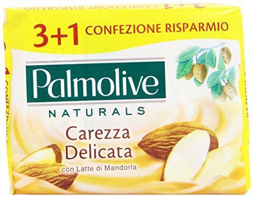 Palmolive–Seife-Toilette, Zärtliche Geste mit Mandelmilch–360g 4Stück