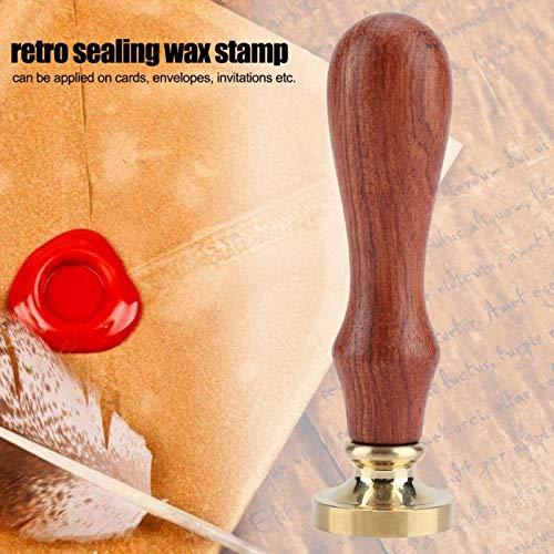 Zegellak Hout Hout 1 St Zegelzegel Wax Klassieke Zegel Stempel voor Uitnodigingskaarten Huishoudelijke…