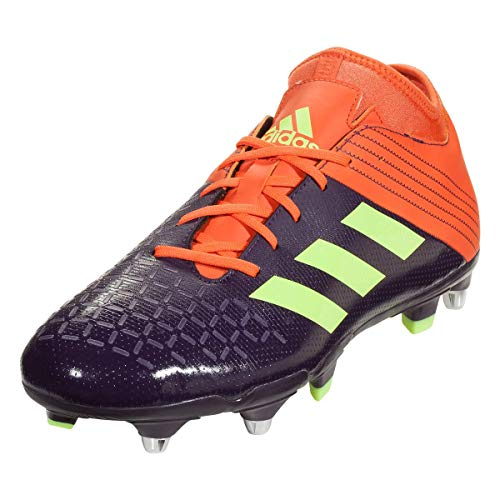 adidas Malice Elite SG Rugby Boots, Purple, US 13