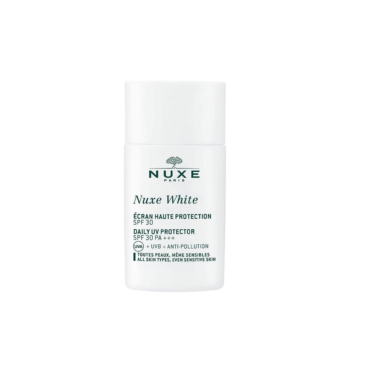 侵入する血色の良い最終的にニュクス(NUXE) ニュクスホワイト UV プロテクター 30 30mL