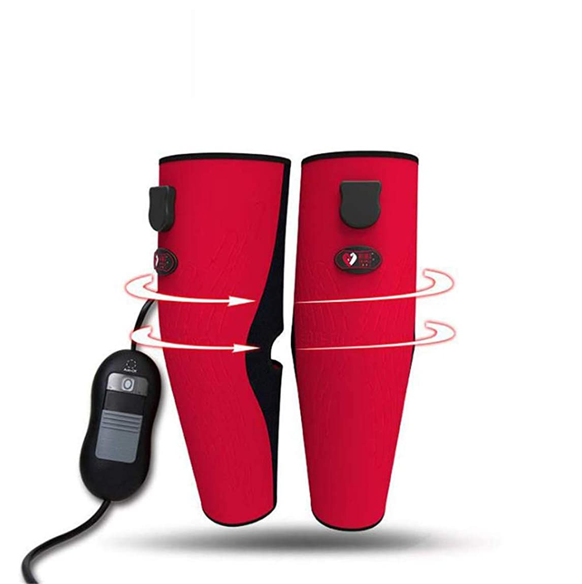 単独で注文区別する温められた足のマッサージャー、膝と足の痛みを和らげる治療装置、3モード温度制御の痛みを和らげる治療装置