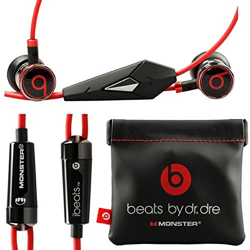 Monster Beats By Dr Dre Ibeats in Ear Headphones Earphones Black -...