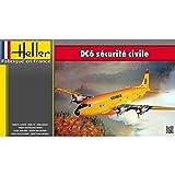 Heller - 80330 - DC-6 Sécurité Civile - 105 Pièces - Echelle 1/72