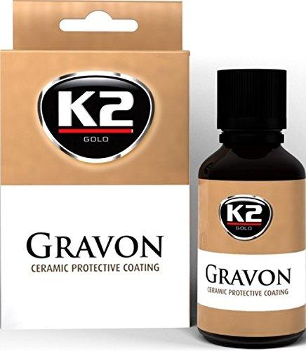 K2 Gravon Refill, Keramische Schutzbeschichtung, Keramik Hochglanz Politur, kein Wachs mehr notwendig, 50ml