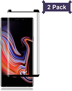 [2-Pack] Galaxy Note 9 Screen Protector,Cafetec [9H Hardness][Anti-Fingerprint][Anti-Scratch] Tempered Glass Screen Protector Compatible with Samsung Galaxy Note 9 Black