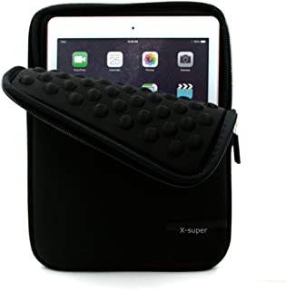 X-super Compatible Sleeve Pouch Replacement for 2017 Version iPad Pro 10.5 Shockproof Neoprene Cover Case with Accessory Pockets (black)