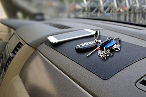 XFAY HX276 multifuncional coche salpicadero antideslizante Pad Antideslizante Mat Dashboard Coche Cojín Pegajoso Holder para el teléfono y gps, gafas de sol, boligrafos, llaves, monedas, etc