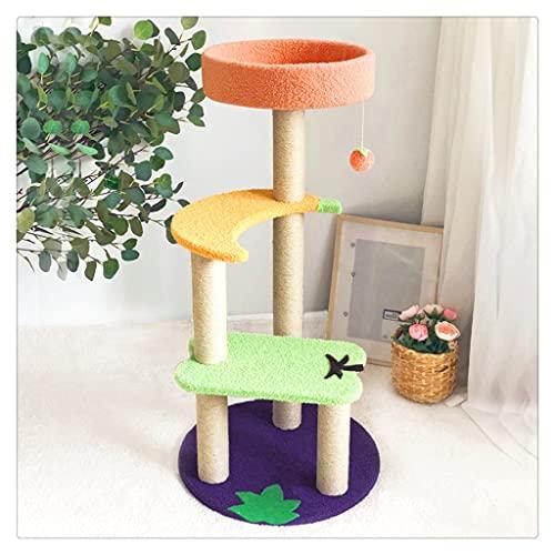 AYDQC Gatos Grandes Multicapa de Alto Grado Marco de Escalada Productos para Mascotas Juguetes Estantes Muebles Gatos Casa en el árbol (Color : D)