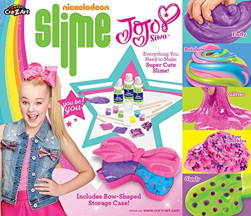 Cra-Z-Art Nickelodeon JoJo Siwa DIY Slime Kit, Brown, 6 x 6