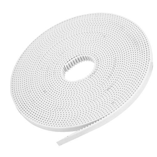 SALUTUYA 3D Printer Belt, for DIY 3D Printer Parts, Timing Pulley Belt, 3D Printer Accessories(5M)