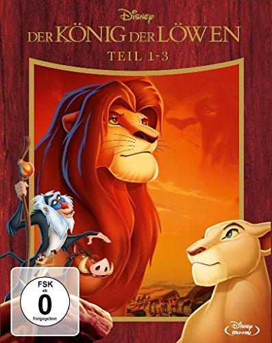 Der König der Löwen 1-3 - Trilogie [Blu-ray]