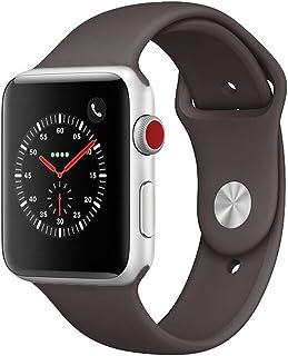 Apple Watch Series 3 Cellular Stainless Steel 42mm Silver (Renewed)