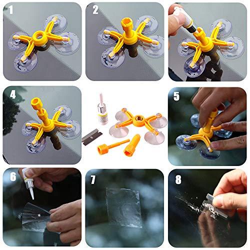 GLISTON Windshield Repair Kit