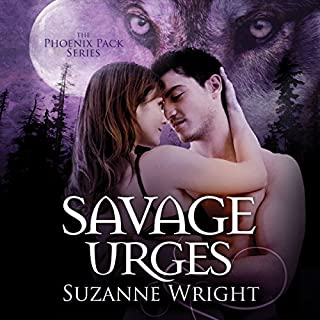 Savage Urges     Phoenix Pack, Book 5              Written by:                                                                                                                                 Suzanne Wright                               Narrated by:                                                                                                                                 Jill Redfield                      Length: 10 hrs and 44 mins     8 ratings     Overall 4.6
