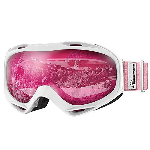 OutdoorMaster OTG Ski Goggles - Over Glasses Ski / Snowboard Goggles...