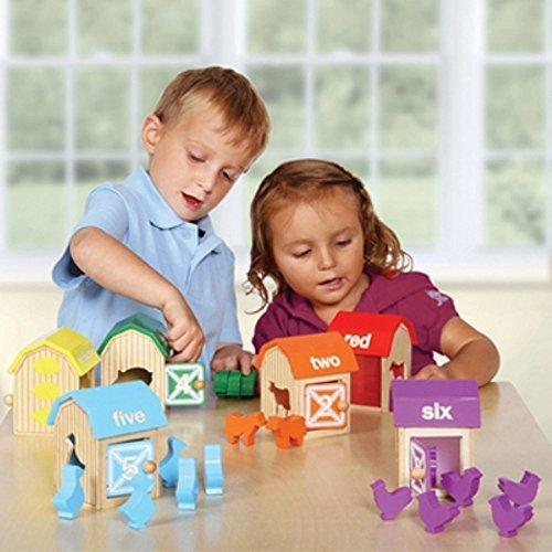 Guidecraft Barnyard Activity Boxes by Pro-Motion Distributing - Direct