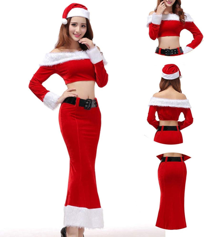 FAFY Weihnachten Weihnachtskostüm - Weihnachtskostüm Cosplay In Versuchung Weihnachtsmädchen DS Performance Party Clothing B07KFFCBST Spezielle Funktion  | Verschiedene