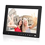 NEXGADGET 10.4 Inch Digital Photo Frame with Motion Sensor, Remote Control, Audio and Video Player, Support 32GB SD Card