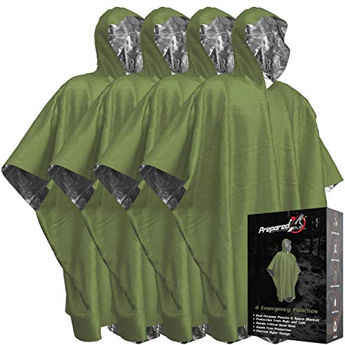 Emergency Blanket Poncho - Keeps...