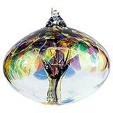Milford Collection Orb Tree of Life - Globo de cristal (tamaño pequeño)