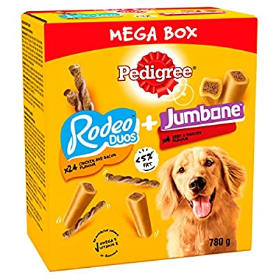 Pedigree Mega Box Medium Dog Treats, 780g