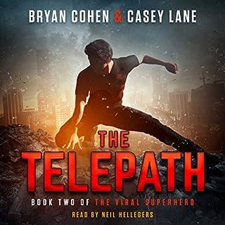 The Telepath audiobook cover art