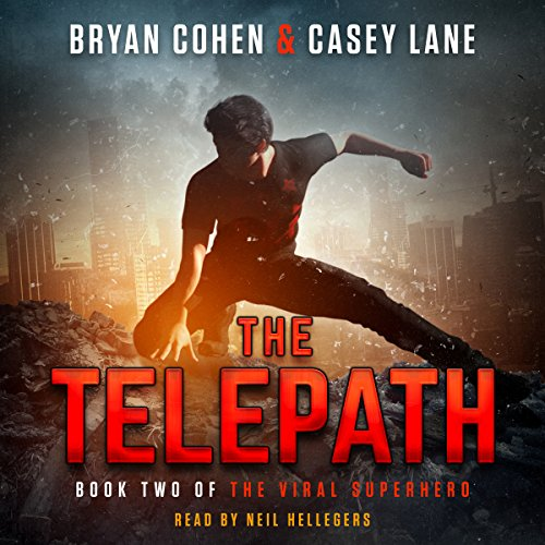 The Telepath audiobook cover art