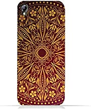 Infinix Zero 2 X509 TPU Silicone Protective Case with floral Pattern 1201