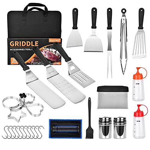BQYPOWER Blackstone Griddle Accessories Kit, 30PCS
