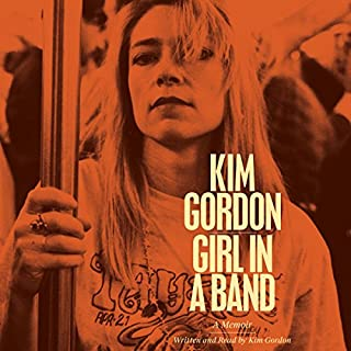 Girl in a Band audiobook cover art