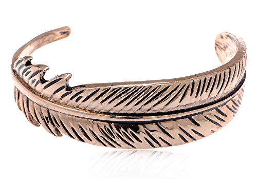 Alilang Asian Golden Metal Tone Carved Twin Dancing Snakes Fashion Bracelet