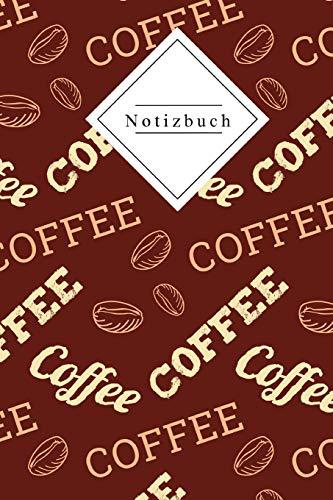 Notizbuch: Kaffee am morgen Vertreibt Kummer und Sorgen | 120 gepunktete Seiten DinA5 | Ideal für die Schule, zum Malen, Zeichnen, Reisen oder alles andere