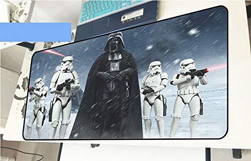 Zenghh Star Wars Informática Alfombrilla de ratón Imperial Stormtrooper Ejército Guerrero Negro...