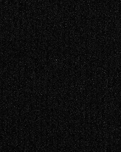 Eventteppich Messeteppich | Rips-Nadelfilz | 200 und 400 cm Breite | schwarz | Meterware, 50m Rolle | Größe: 50 x 4 m