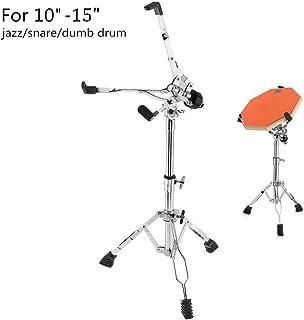 Snare Drum Stand, Metal Adjust Plegable Snare Stand Holder Soporte de trípode portátil para 10-15 pulgadas Jazz Snare Dumb Drum