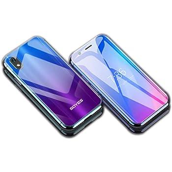 SOYES XSミニスマートフォン2GB 16GB / 3GB 32GB Android 6.0 1580mAh 4G Wifi GPS ガラス本体、バックアップデュアルカード電話、フェイスロック解除 (紫, 3GB+32GB)