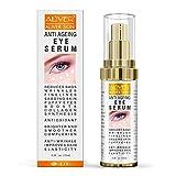 Under Eye Cream for Dark Circles and Puffiness, Eye Serum Cream Anti Aging Bags & Wrinkles for Men Women, Hydrating Eye Cream for Fine Lines – 0.5 fl oz (15ml)