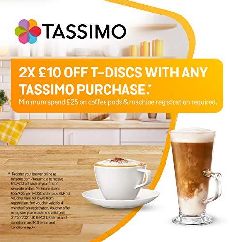51 xH10q3yL. SS500  - Tassimo Bosch Suny TAS3202GB Coffee Machine, 1300 Watt, 0.8 Litre - Black