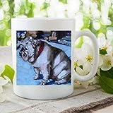 Tasse mit englischer Bulldogge, 325 ml