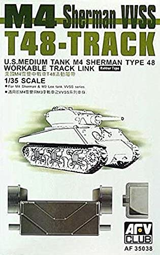 T-48 Track Links 1-35 AFV Club by AFV Club