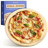 Piedra para Pizza para Horno y Grill - Redonda 30 cm Ø - Para Masa de Pizza Crujiente - Plancha de...