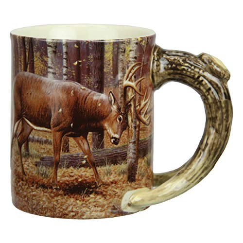 River's Edge Products 3D 15 oz. Mug - Deer Scene