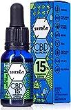 SYZYGY   Auténtico CBD Oil 15%   Full Spectrum   Aceite de Cáñamo Bio enriquecido con 15% CBD   15ml - 600 gotas Aceite CBD Premium   Hemp Oil con 2250mg de Cannabidiol   Espectro Completo