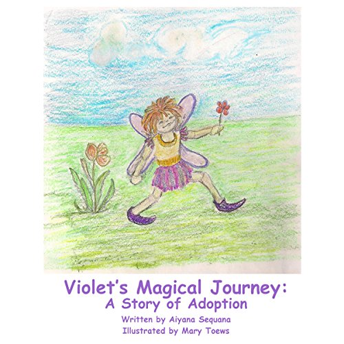 Violet's Magical Journey audiobook cover art